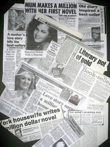 Ann Victoria Roberts, Louisa Elliot newspaper clippings