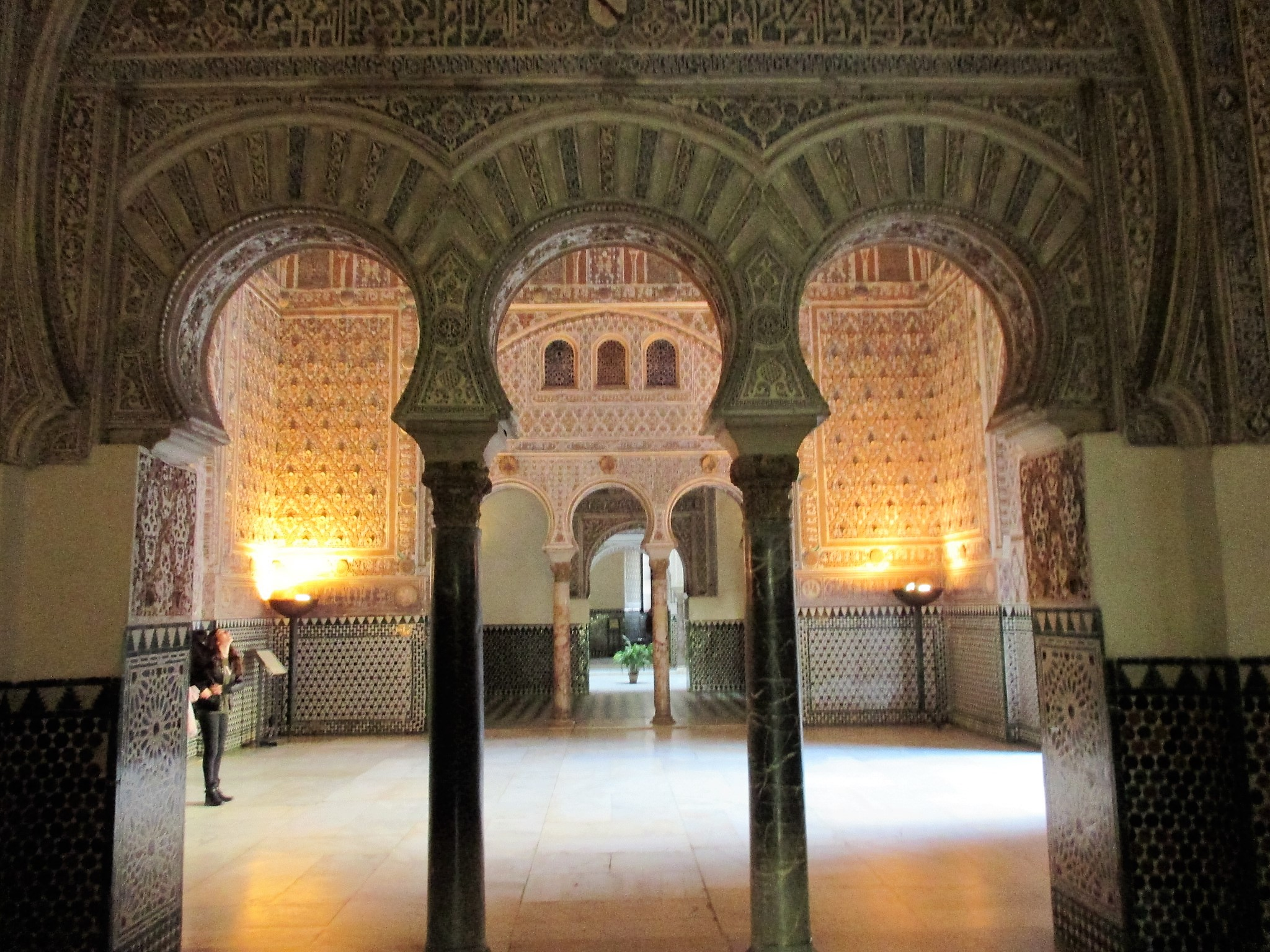 6 Inside the Alcazar Palace Seville